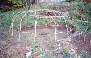 10 - La structure de la hutte de sudation