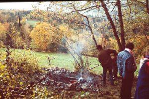 08 - Séminaire de 1985 - La Hutte de Sudation - Labaroche - France