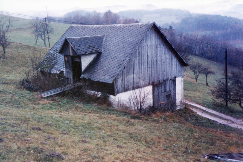 11 - Labaroche 1984 - la ferme