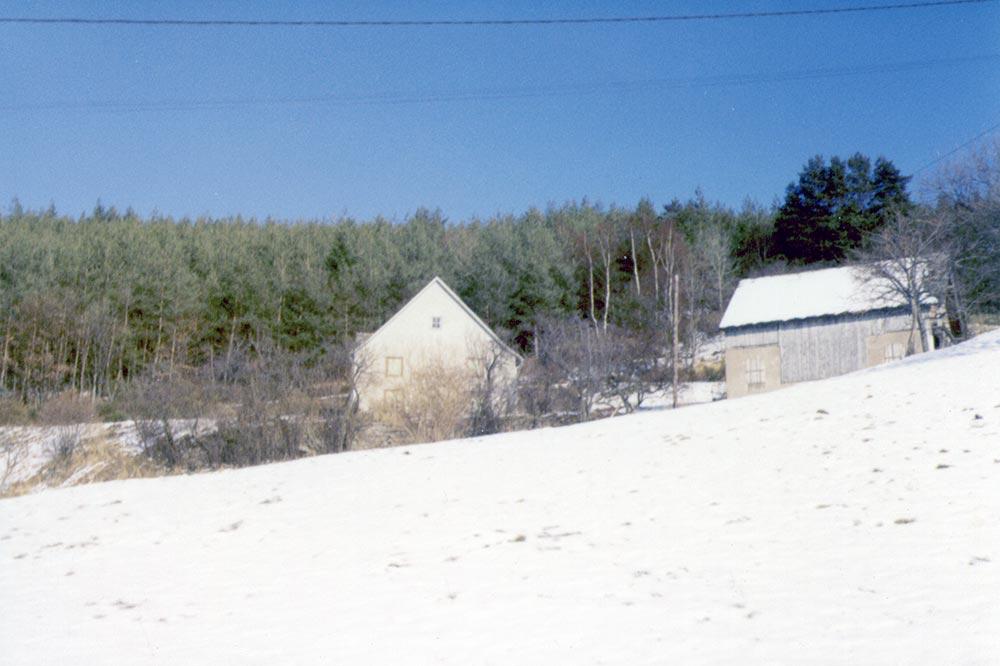 14 - Labaroche 1984 - la ferme