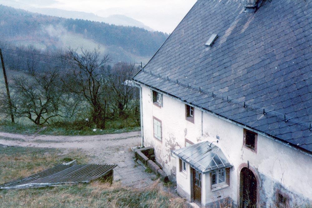 15 - Labaroche 1984 - la ferme