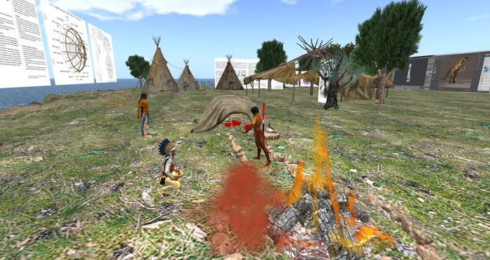 Vue sur la Hutte avec le village au fond
